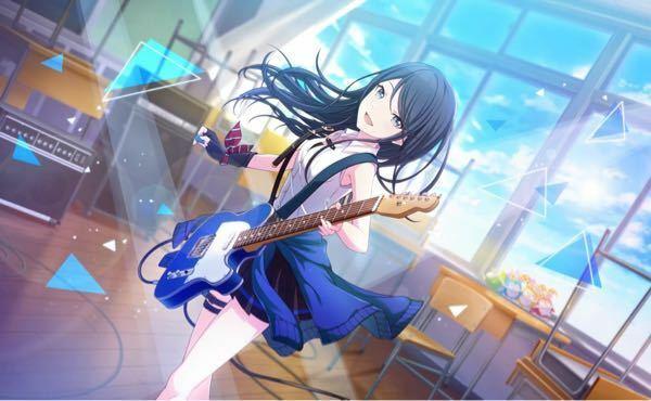 このキャラクターのギターのモデルってわかる人いますか?教えていただきたいです