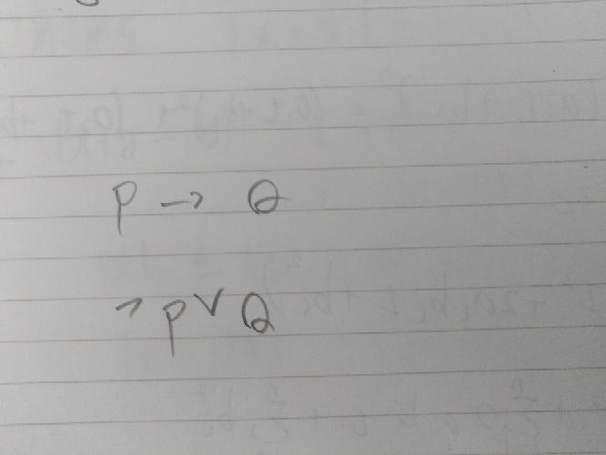大学数学 基礎解析 この上と下が同じって言うのかよく分かりません。PQは命題です