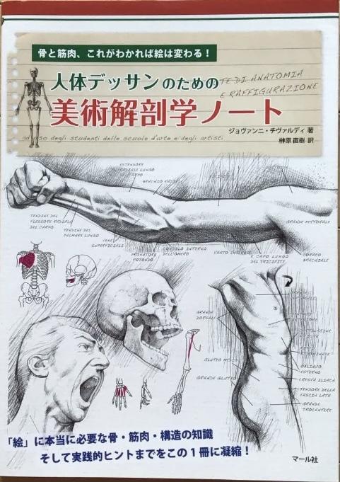 人体を描きたい為に参考書を買おうと思うのですが、こちらの参考書はいいですか? 実際に読まれた方感想お願い致します