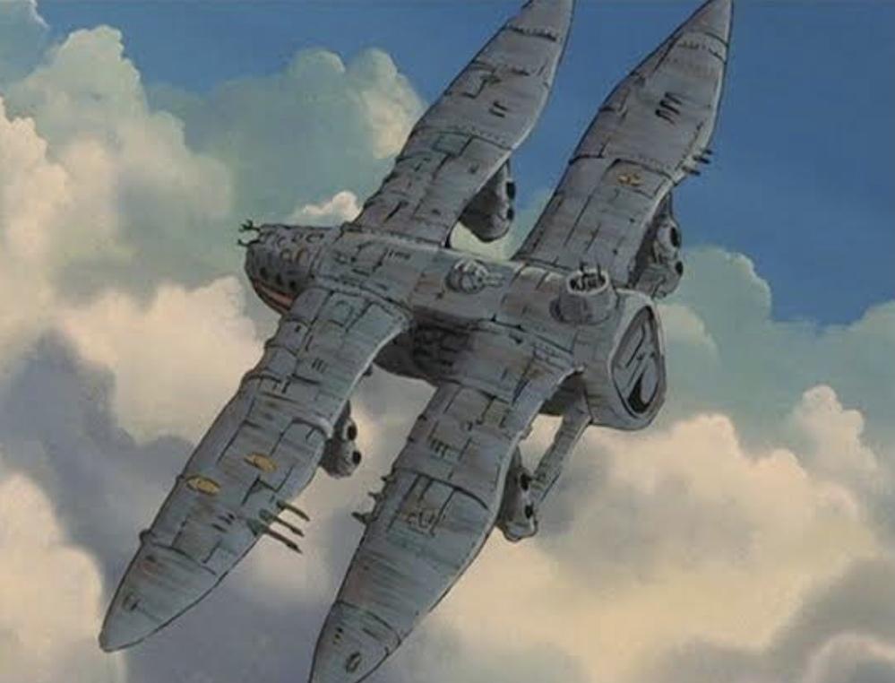 こういう飛行機はもしかして飛ばないの? 翼がダブルで飛びそうですが。