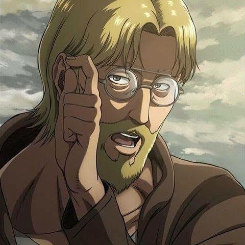 進撃の巨人のジーク戦士長がいると思うのですが、ジーク戦士長が掛けているメガネって、売っていたりしますか?ありましたら、商品名やブランド名を教えて下さると助かります。