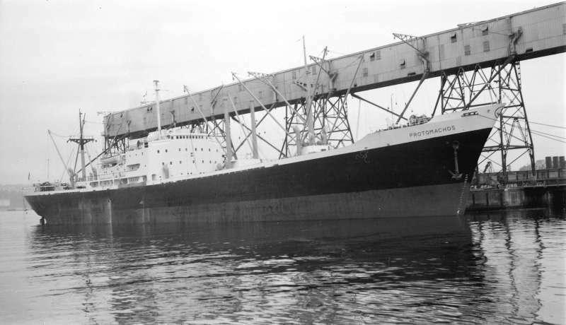 この船(Oinoussios 1956)は1960年にブリティッシュコロンビアまたはアメリカ太平洋岸からインド東岸に小麦を運びました 今でも小麦って アメリカからインドに運ばれるんですか?