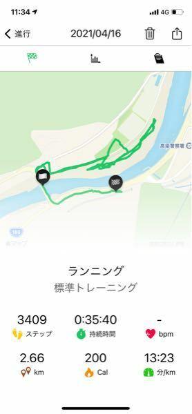 4キロを速度8キロの速度でジョギングを目指してます。 結果は35分 13(分/km)でした。 これは思いのほか、早いと言うことでしょうか? 補足 普通の歩行が4kmの速度です。 速さ 1キロあたりの時速を計算してみます。 1キロあたり7分→時速8.75キロ(初心者) 1キロあたり6分→時速10キロ(中級~初心者) 1キロあたり5分→時速12キロ(中級者) このようになりますが、ラン...