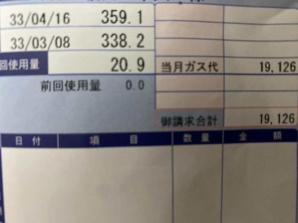札幌で一人暮らししている学生なんですが、プロパンガスの料金ってこの時期ならこれくらい行くものなんですかね。 ちなみに20日間住んでて暖房とシャワーにガス使ってます。