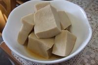 高野豆腐好きですか? 私は大嫌い。