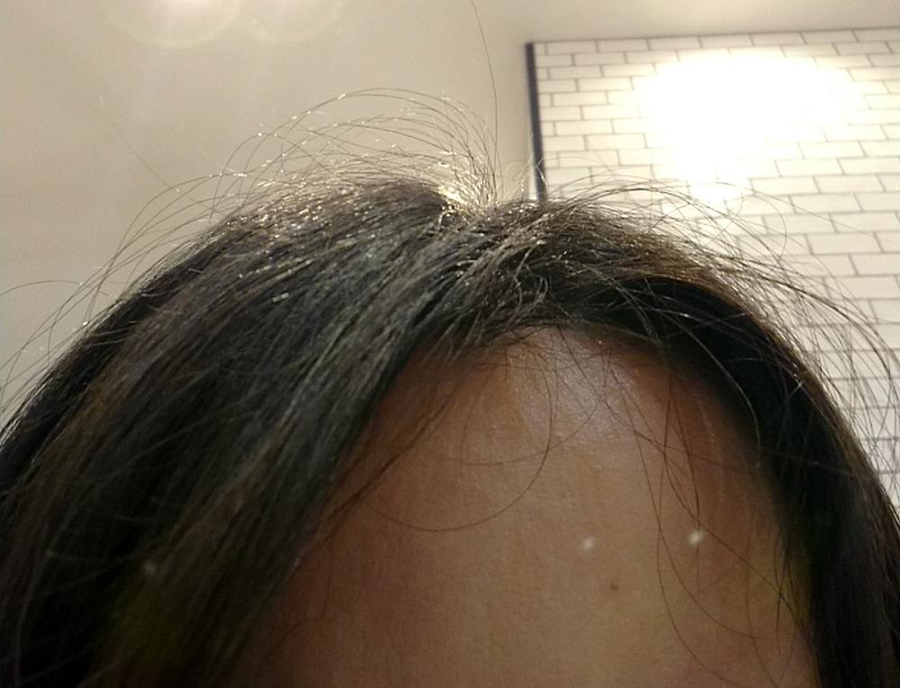 汚い画像失礼します。 髪が写真のようにブラシやオイルなどを使ってどれだけ頑張って均しても毛羽立ってしまいます。だらしなく見えるのですごく嫌です。 縮毛矯正もやりましたが駄目でした。 髪質自体はコシがあって指通りも良いと美容師さんからよく言われます。 どうしたら毛羽立たないキレイな髪にできますか? 皆髪がビシッとキレイで毛羽立っている人は少なくて羨ましいです。