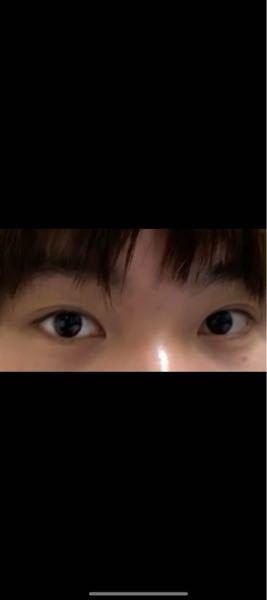 この目は小さいor細いですか?それとも普通くらいですか?