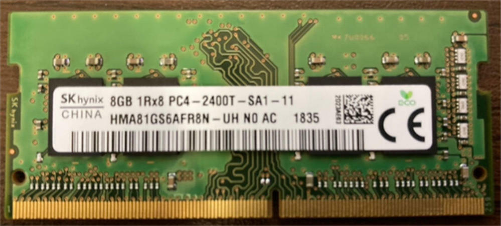 ≪メモリの適合について≫ PC4-19200 (DDR4-2400)を使用しているノートPCに、PC4-19200S (DDR4-2400T)を追加してもデュアルメモリとして使用可能でしょうか? 型番にSやTが入っていることの違いです。 何卒宜しくお願い致します。