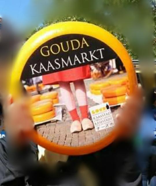 オランダに詳しい方教えて下さい。このチーズをまるごと一個買ったら幾ら位ですか?
