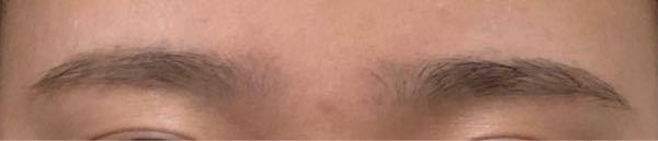 真正面から撮った私の眉毛なんですが、 これくらいの左右差は気にならない範囲ですか? 変に形を整えようとするともっと変になりそうで、、
