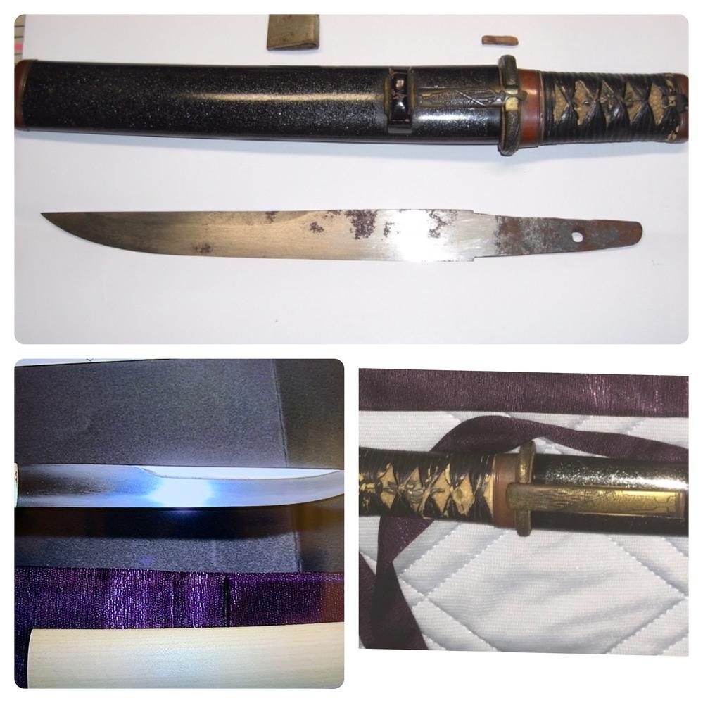 日本刀に詳しい方ご教授ください。 写真の短刀についてどう思われますか?? 幕末の流行りは長めの打刀に脇差の代わりに短刀をさしていたと聞いたことがあります。その部類のものでしょうか? なお、登録はしております。