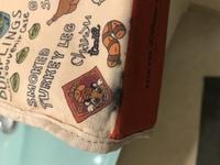 至急です!このような布の筆箱の汚れを落とせる方法はないですか?(ちなみに墨汁です)知っている方いればぜひ教えてください。