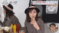 ↓の画像の岩田絵理奈アナは、佐藤梨那アナと尾崎里紗アナのどちらに似ていますか?  (◆taka23さん用◆)