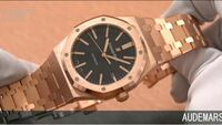 オーデマピゲのロイヤルオーク・ピンクゴールドは、入手しづらいですか?また、この時計についてどう思いますか? AUDEMARS PIGUET Royal oak PinkGold