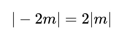 絶対値についてですが、この写真の等式は何故成り立つのですか?