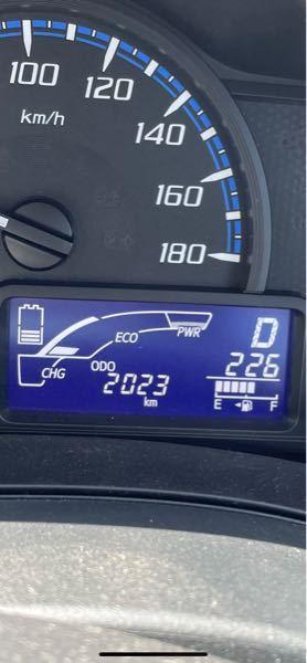 トヨタのプロボックスハイブリッドに乗ってるのですがこのメーターの左のバッテリーマークは何を意味しますか?3本くらいに減ったり8本くらいになったりと変動が良くあり低い時もあるので心配です。ゼロになるとバッ テリーが上がってしまうのでしょうか?