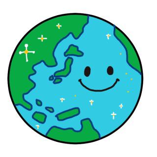 本日4月22日はアースデー(地球の日)です(*˙˘˙*) 地球の良いところはどこですか?