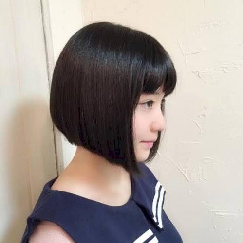 このような髪型なのですがどのような地雷系?の髪型になれますかね?