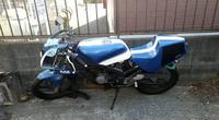 このバイクの名前を教えてください このカラーの名前?もわかる方いましたらよろしくお願いします