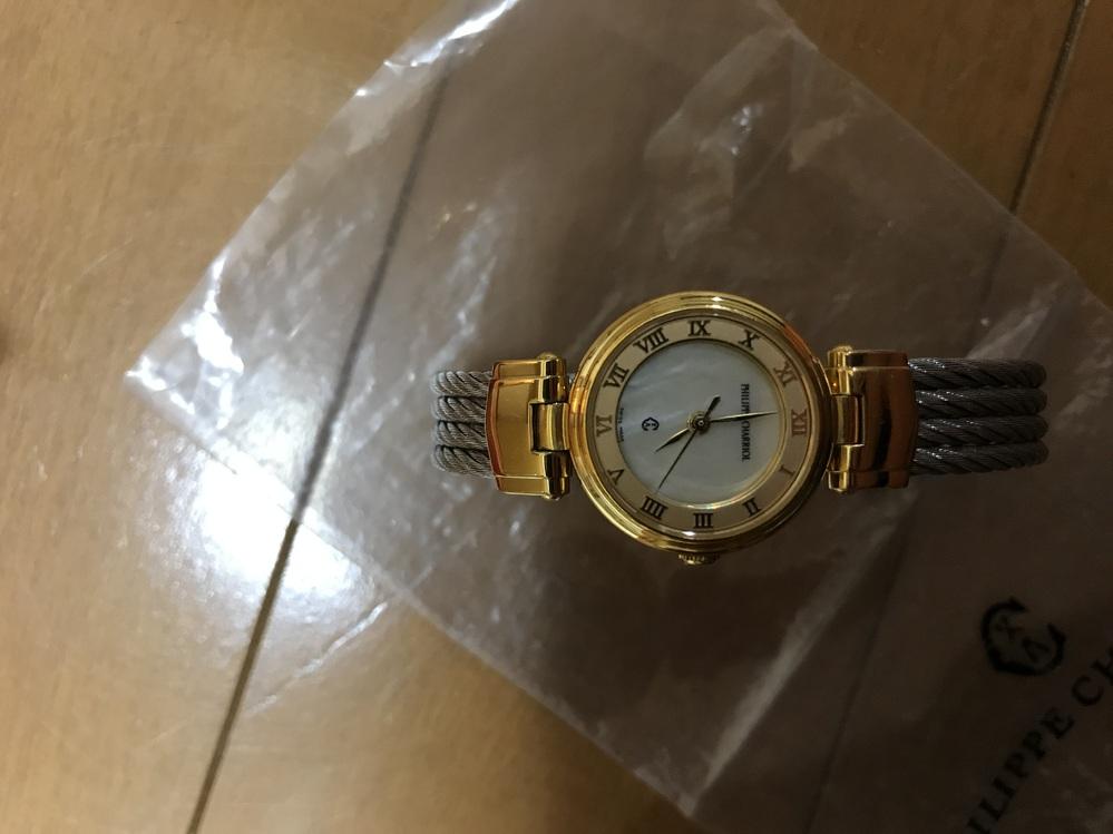 すみません!至急です! フィリップシャリオールのこの時計の情報を知っている方がいらっしゃれば教えてくれると助かります!