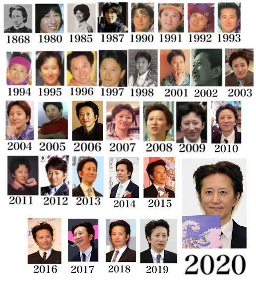 日本の男性って年取っても見た目変わらない人多くないですか?笑 例 阿部寛、桜井政博、荒木飛呂彦