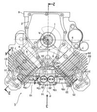 なぜV型エンジンて上下逆に積まないのですか。 ・・・・・・・・・・・・・・・・・ V型をA型に搭載すれば低重心化していいのでは。 よく分からないのですが。 例えばF1ならV型をA型に搭載すればエンジン...