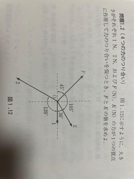 この問題の答えが F=3√2(√3-1)/2=1.55 K=√3(√3-1)=1.27 になるんですが、どうしてこうなるのか分かりません。教えて下さい。