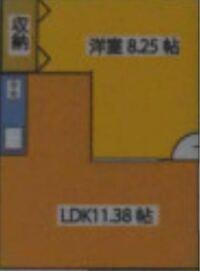 L字型11畳のリビングの照明について 画像の11の部分と、キッチン部分の真ん中に照明があります。  キッチンに照明をつけ、その他に付けるリビング(11の部分)のシーリングライトは、8畳までのものか、12畳までのもの、どちらがよろしいのでしょうか。光の調節はできるものを購入予定です。キッチンまでもをそのライトで明るくしようとは思っていません。