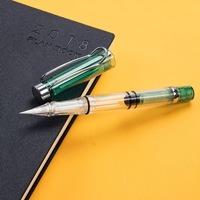 こちらの筆ペンの購入を考えています。 インクが入っていないタイプのようで、別に購入しなければいけないのですが、ガラスペンのインクを使用することは可能なのでしょうか? 海外サイトで購入を検討しているの...