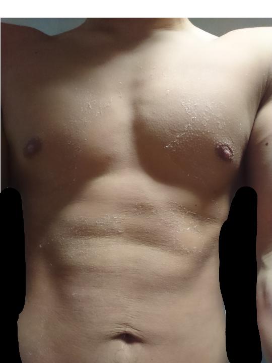 筋トレしてる人に質問です。 体重計で体脂肪率を測ったら15%と出ました。この体は15%ぐらいの体でしょうか?