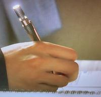 このシャーペンがどこのやつか分かりますか?