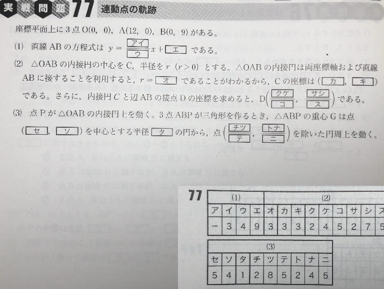 高校数学Ⅱの問題です! できるだけ分かりやすく説明おねがいしたいです。 お願いします! 解答はのせておきました!