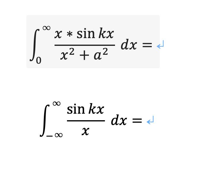画像の二つの積分の方法がわかりません。 解説よろしくお願いします。