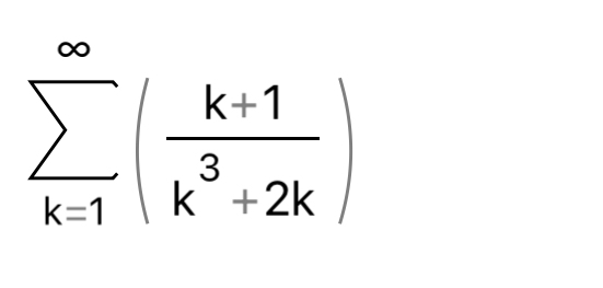 数学の問題です。 この級数の収束、発散を調べて欲しいです。 かいとうお願いします