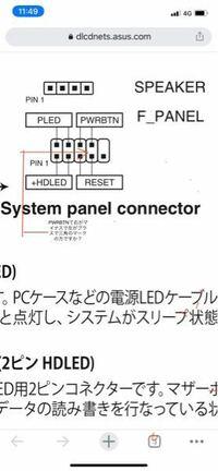 字が小さくなっちゃったんですが、なんかマザーボードにフロントパネルのコネクターを指定のコネクターにつけても反応がないので質問です。パワーボタンのコネクターは右がマイナスで左が三角でプラスでよろしいんで したっけ?分かる方、どうかよろしくお願いします