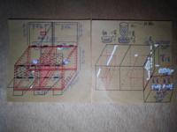 『イタチ』と鳥小屋について教えてください。 チャボの小屋を作成したいと考えております。  ★縦面・横面・正面(1/2は鉄網と合板の  選択二重)・背面・底面、の総コンパネを  企画しています。 ★おおまかな材料...