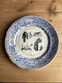 フランスのお皿で絵がなぞなぞになっているらしいのですが、この画像の意味がわかる方いらっしゃいませんか?
