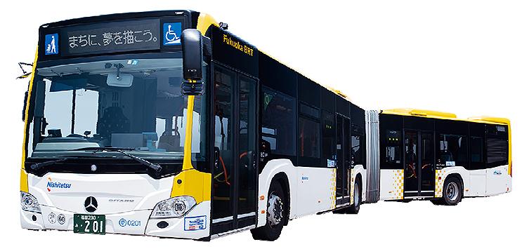 画像のような連結バスって日本の免許の場合大型免許で運転できるんですか? それともけん引免許も必要? 福岡で走ってますが。