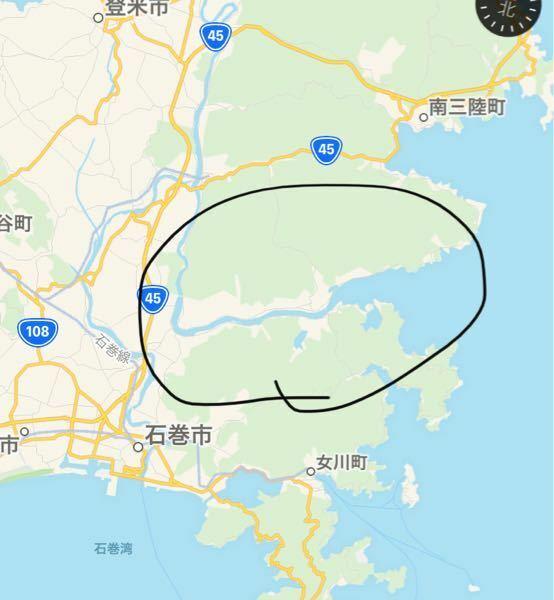 東日本大震災で、画像の最上川は、どのくらいの距離まで津波が押し寄せたのか分かる方いらっしゃいますでしょうか?
