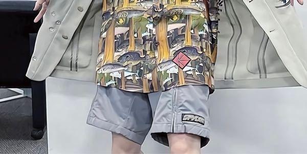 このショートパンツのブランド分かる方がいたら教えてください!
