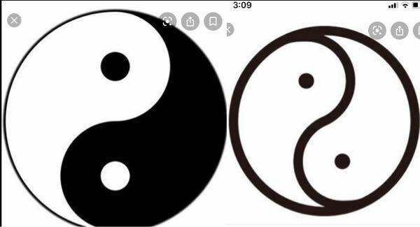 小さな時から疑問になっている事ですが、この写真を見てください、左は中国のあるマークです、右は群馬県伊勢崎市のマークです。ほぼ同じようなのですが、なにか関係があるんですかね?知ってる方いたら教えてくださ い!