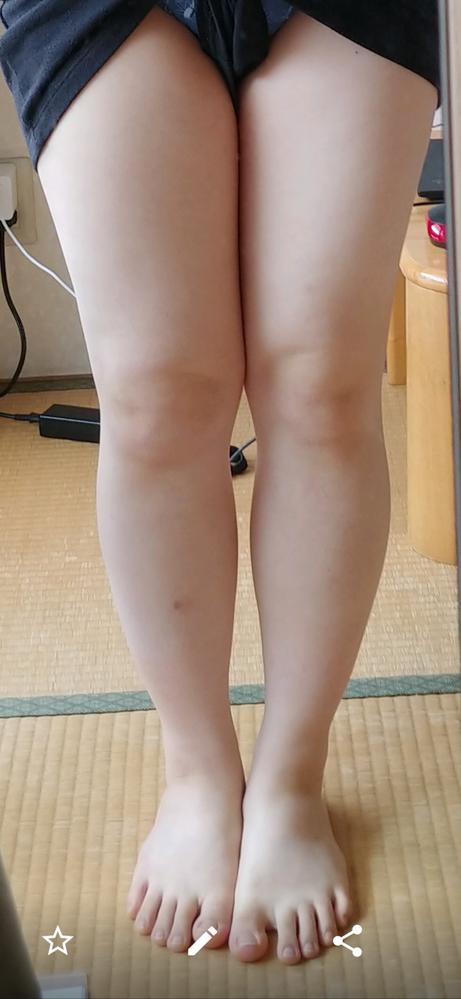 この足は太いと思いますか?