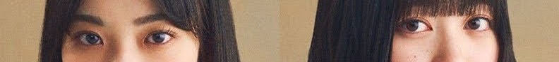 坂道パーツクイズ其の336 画像の現役または元坂道メンバーは 左右それぞれ、誰と誰でしょう?