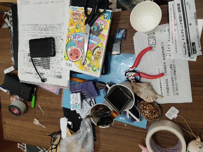 この机は汚い度で言ったら何%ぐらいでしょうか?