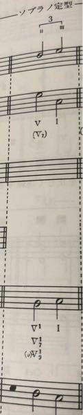 和声のソプラノ課題について ソプラノ定型の「Ⅱ→Ⅲ」で使用出来る対応バス定型を見ると「Ⅴ7の1転」や「Ⅴ9(根省)の1転」があるのですが、これは限定進行でこの先のⅠに生じる第3音重複は認められているという認識でよいでしょうか? 「一応使用は出来るけど、なるべく避けようね」という感じでしょうか。  音楽 音楽理論 楽典 和声 理論と実習