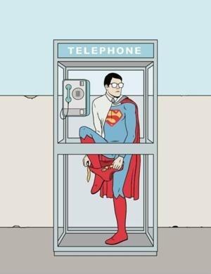 【大喜利】 電話ボックスが激減した現在 スーパーマンはどこで変身していますか?