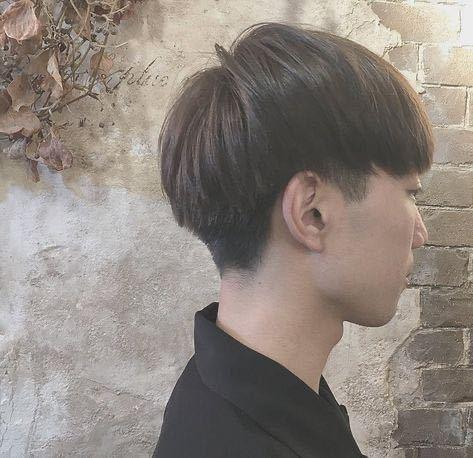 この髪型ってマッシュって言いますか?