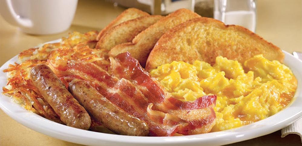 こういうモーニングが食べられるところどこかにありませんか? ちなみに、写真はアメリカのデニーズです。