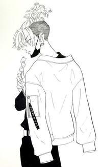 東京リベンジャーズの松野千冬の髪型にしたいのですがどのぐらい伸ばせば行けると思いますか? ぜひわかる方いたら教えてください 下の写真のような感じです