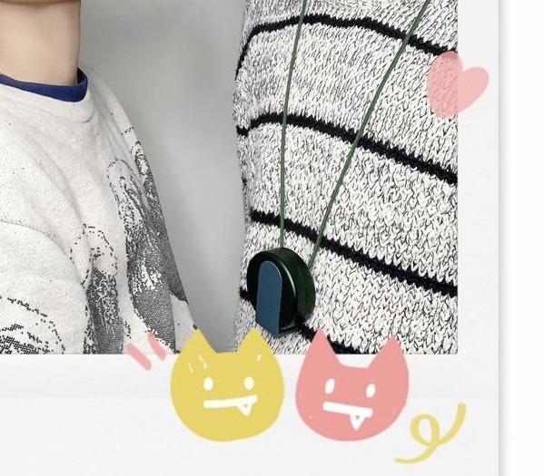 にるきょうさんのつけているこのポーチはなんでしょう。 緑が可愛くて欲しいのですが特定できなくて。わかる方いらっしゃいませんか?